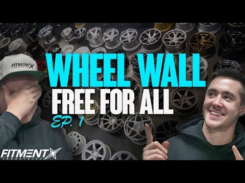 Wheel Wall Free For All | Episode 1