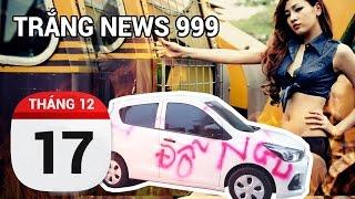 Đỗ xe NGU và bài học | TRẮNG NEWS 999 | 17/12/2016
