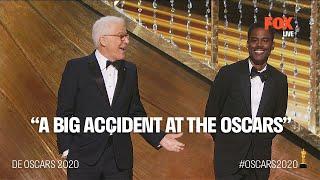 The Oscars 2020   Chris Rock & Steve Martin crack up during Oscar Opening   FOX