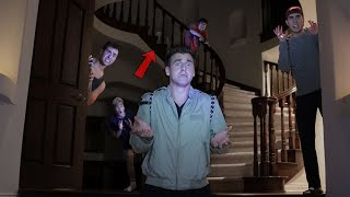 Hide and Seek in HAUNTED MANSION! (DON'T WATCH THIS AT NIGHT)