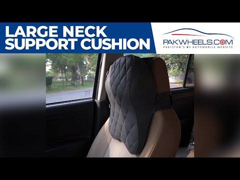 Car Neck Back Rest Long Cushion With Memory Foam | PakWheels