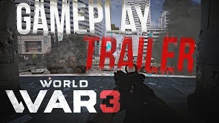 WORLD WAR 3 Gameplay Trailer! 🔸 Tak wygląda gra!