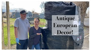 Antique And Home Decor Unboxing
