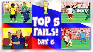 🤣TOP 5 FAILS! Fail or No Fail?🤣 Sanchez Handball! Cionek Own Goal! Krychowiak Pass! And more!