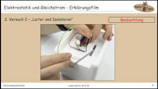 8.1 ELEKTROSTATIK UND GLEICHSTROM