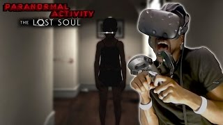 I ALMOST HAD A HEART ATTACK | Paranormal Activity: The Lost Soul #1 (HTC Vive REACTION)