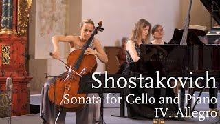 Shostakovich: Cello Sonata IV. Allegro / Sol Gabetta, Polina Leschenko