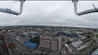 Тестовый полет с камерой Samsung Gear 360
