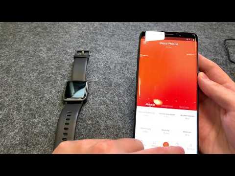 LATEC Smartwatch - Fitness Tracker Wasserdicht und unter 50€ Deutsch German