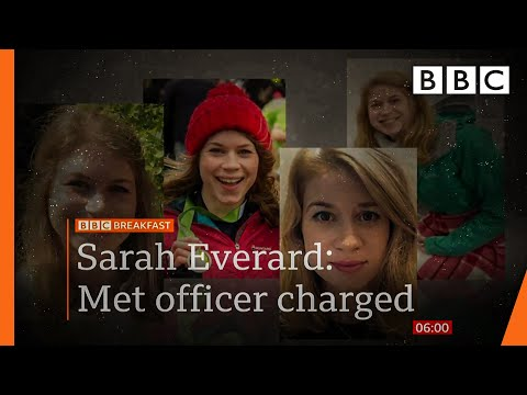 Sarah Everard: Met PC Wayne Couzens charged with murder ???? @BBC News live - BBC