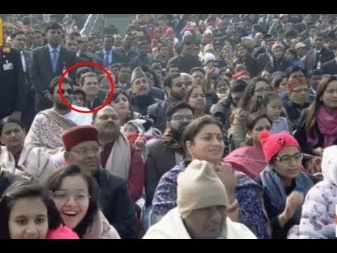 जानिए गणतंत्र दिवस पर मोदी ने राहुल गाँधी का क्यों किया अपमान | Republic day news | Rahul gandhi.