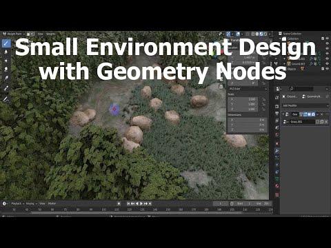 Blender 2.92x | Geometry Nodes Show Reel