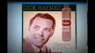 """Dick Haymes / """"Now At Last"""" live studio takes 1956"""