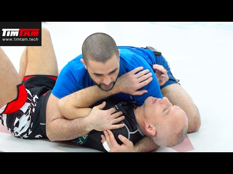 BJJ - Getting out of Side control with Karel Silver Fox Pravec - Coach Zahabi