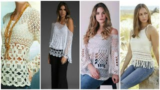 Trendy Fashion 30Awesome Crochetsweater For Women/Lacy Top Blous Dress Design/boho Fashion