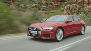 YouTube Video Wq_GL5LrZFI for Product Audi A6 Sedan (C8, Typ 4K) by Company Audi in Industry Cars