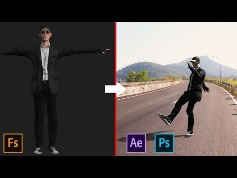 Create And Animate Character Using Adobe Fuse