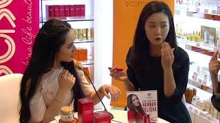 Kim Tae Hee's Older Sister (A Beautician), 15 Sep 2017