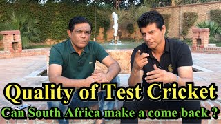 Quality Of Test Cricket | Struggling SA | Rashid Latif | BolWasim |