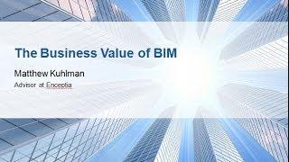 Webinar: The Business Value of BIM