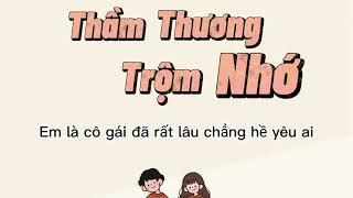 Thầm Thương Trộm Nhớ - Miu Lê x Hoàng Dũng   Lyrics Video