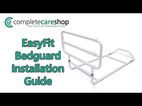 How To Assemble And Install The EasyFit Bedguard