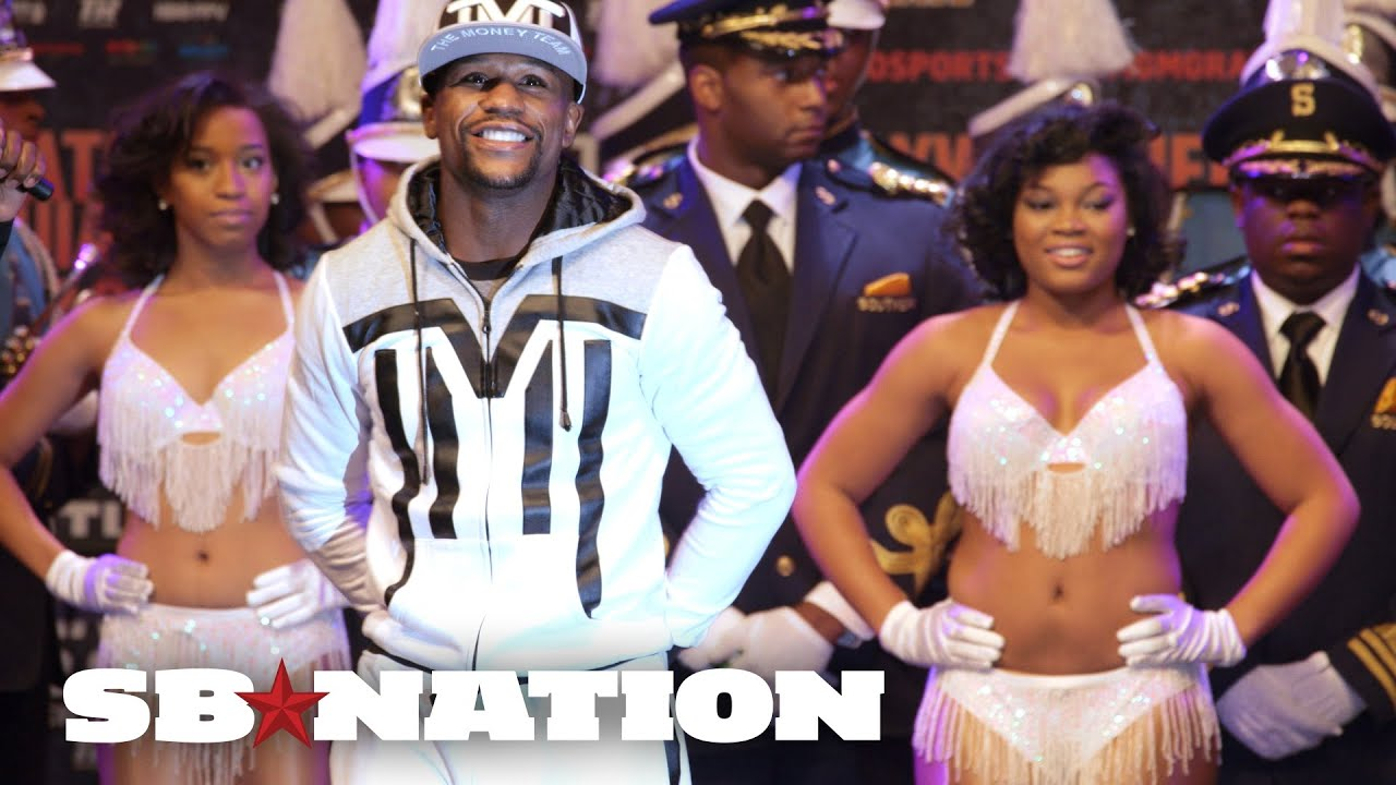 Floyd Mayweather's grand arrival at MGM in Vegas thumbnail