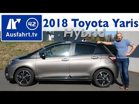 2018 Toyota Yaris 1,5 L Hybrid  Style Selection Grey - Kaufberatung, Test, Review