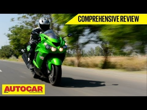 Kawasaki Ninja ZX-14R | Comprehensive Video Review | Autocar India