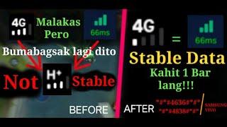 How to boost Data and make steady lagi sa 4G/LTE ang phone mo No lag pa sa ML |Tutorial | 100% Legit