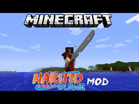 1 7 10] Sekwah41's Naruto mod Minecraft Mod
