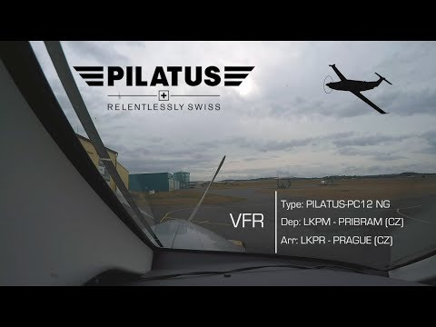VFR | Pilatus PC-12NG Cockpit View | POV, Live ATC, moving