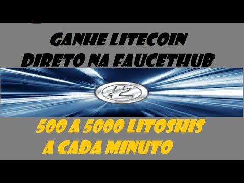 LITECOINS GRÁTIS DIRETO NA FAUCETHUB - Até 0.01 Litecoin por dia