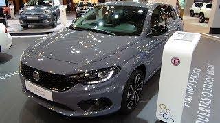 2018 Fiat Tipo 5d S-Design 1.6 Multijet 120 Auto DDCT - Exterior + Interior - Salon Madrid Auto 2018