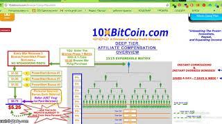 Продолжается регистрация в проект 10xbitcoin