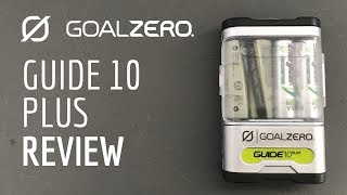 Goal Zero Guide 10 Plus Review