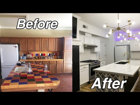 ULTIMATE Kitchen REMODEL: Before & After | YesHipolito