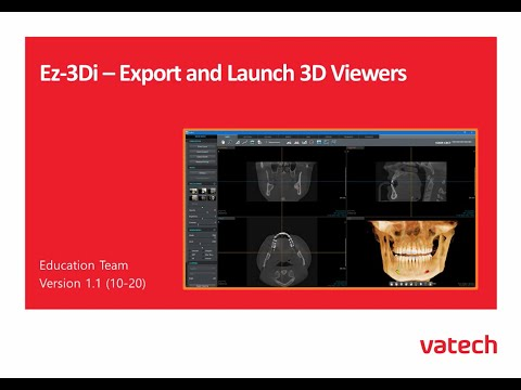 Export and Launch 3D Viewers