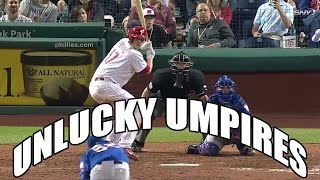 MLB: Unlucky Umpires