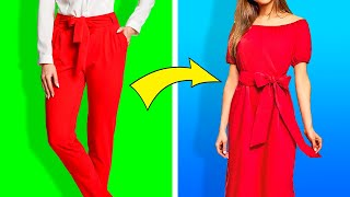 23 DIY CLOTHES HACKS FOR REALLY SMART GIRLS