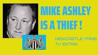 Mike Ashley is a thief