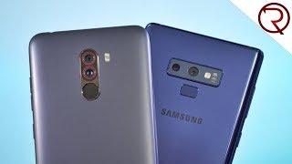 xiaomi Pocophone F1 VS Samsung Galaxy Note 9 Camera Comparison!