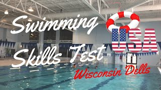 Swimming Skills Test for Lifeguards (Wisconsin Dells)