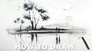 How To Draw Charcoal Art Paper