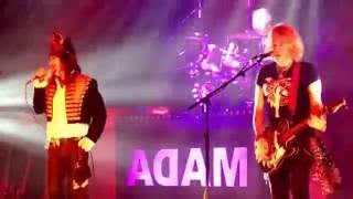 Adam Ant 'The Human Beings' live at Portsmouth Guildhall 27/05/2016