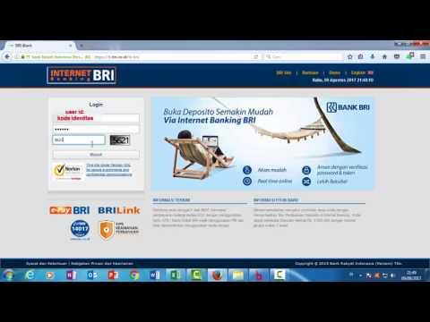 Cara Aktivasi BRI Internet Banking