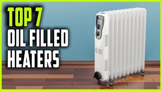 Best Oil Filled Heaters 2021   Top 7 Oil Filled Space Heaters