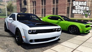 GTA 5 MODS - FASTEST CAR IN THE WORLD (DODGE DEMON)