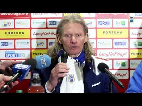 Konferencja prasowa po meczu Stomil Olsztyn - GKS Tychy