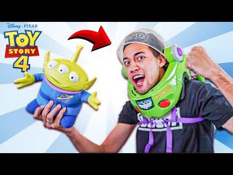 A NOVA ARMADURA DO BUZZ LIGHTYEAR *Toy Story 4*